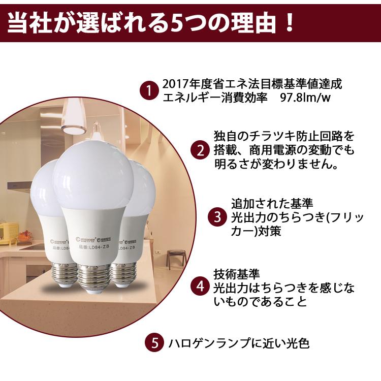 GOODGOODS LED 電球 9W 60W形相当 E26口金 Ra95 電球色/昼白色 一般電球形 840LM  広配光 全方向照明 2年保証