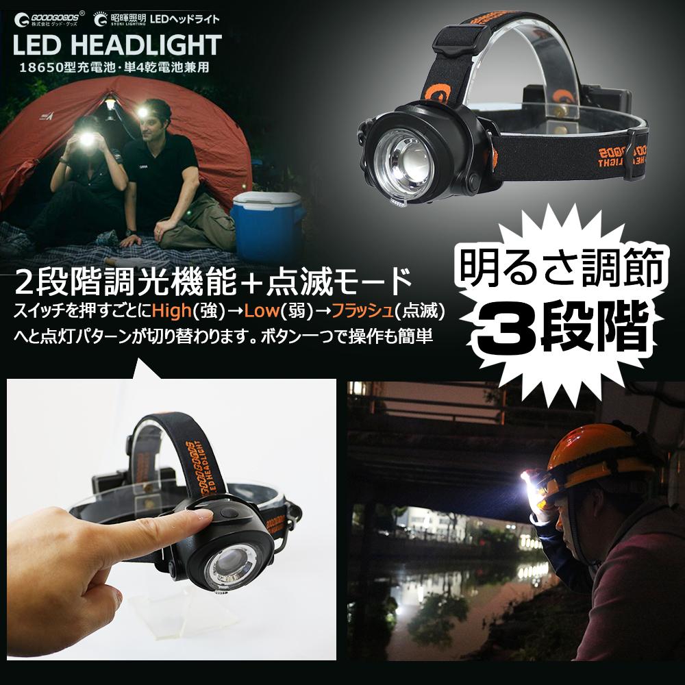 コードレス ポータブル LEDライト