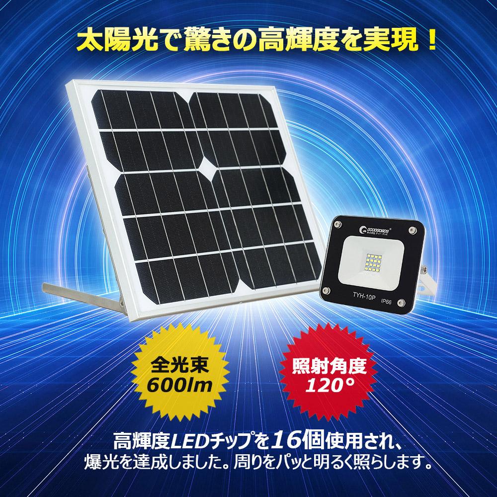 取付簡単 圧倒的な明るさで電気代¥0円 終夜点灯 IP65