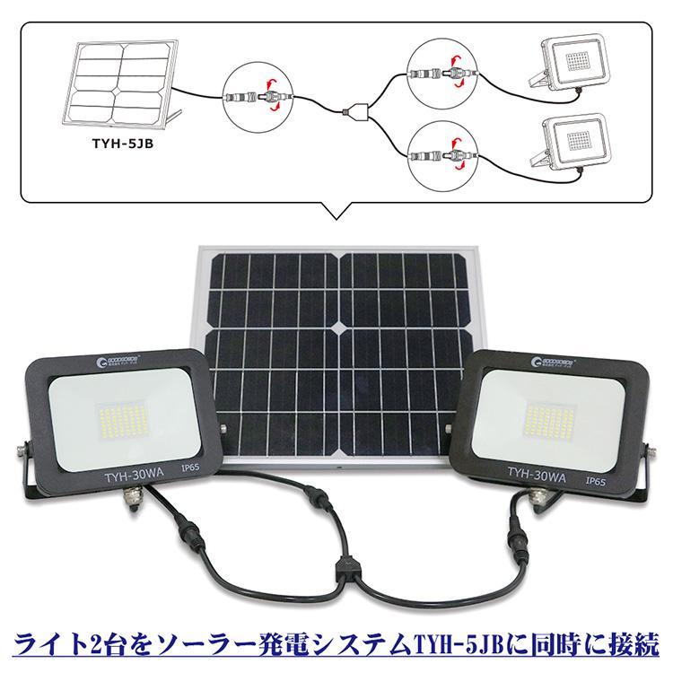 防犯ライト用 最大2台まで連結可能 部品 予備品