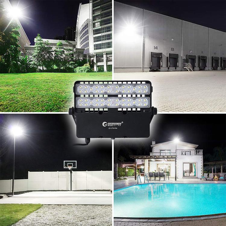 倉庫、温泉駐車場、看板、街路灯、屋台、お祭りなどに屋外照明として