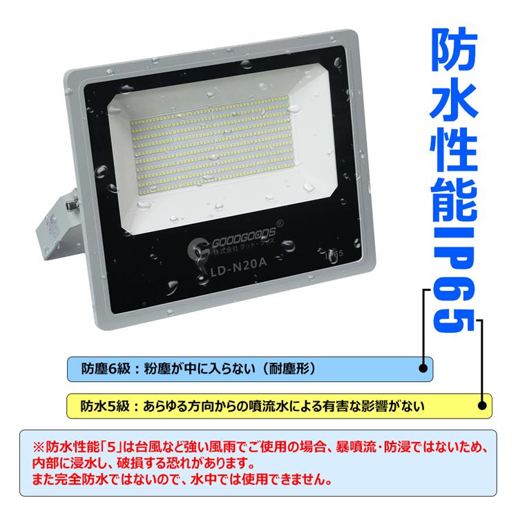 led投光器 200w 2000w相当 ハロゲン代替品 ip65防水 屋外 防雨