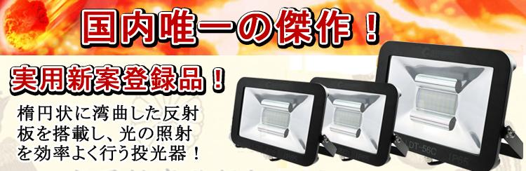 極薄型 LED投光器 20W AC100V-240V 広角140度 昼白色 防水