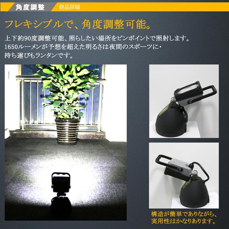 GOODGOODS 充電式 マグネット USBポート付き 応急ライト 防災用品